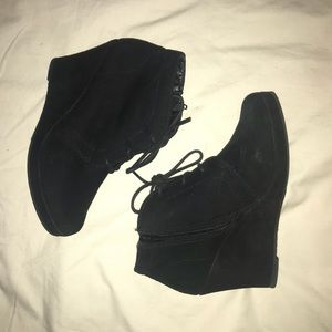 Shoes - Sueded Booties